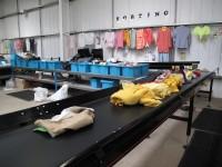 Niemcy praca fizyczna bez języka przy sortowaniu odzieży dla par Monachium