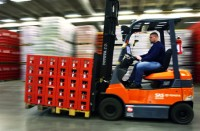 Operator wózka widłowego – Niemcy praca w Dreźnie na magazynie z napojami