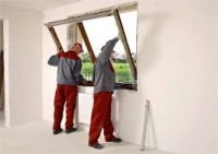 Monter okien i drzwi praca Niemcy na budowie w Nossen