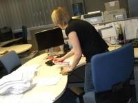 Dam fizyczną pracę w Niemczech przy sprzątaniu biura dla kobiet Bremen