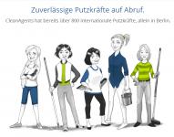 Dam pracę w Niemczech sprzątanie od zaraz Hamburg 10.20€ za godzine