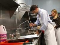 Praca Niemcy w restauracji pomoc kuchenna na zmywaku Frankfurt nad Menem