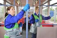 Niemcy praca od zaraz bez języka sprzątanie autobusów Frankfurt