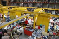 Bez języka dam fizyczną pracę w Niemczech sortowanie odzieży Monachium