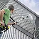 Praca w Niemczech pracownik fizyczny w budownictwie czyszczenie elewacji, Berlin