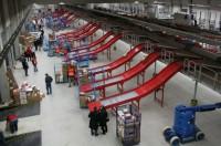 Fizyczna praca Niemcy w logistyce na magazynie sortowni kurierskiej w Kassel