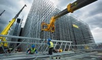 Dam fizyczną pracę w Niemczech jako monter konstrukcji stalowych w Neunkirchen (NAM/10/17)