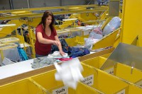Od zaraz fizyczna praca w Niemczech dla par bez języka sortowanie odzieży, Lipsk