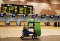 Praca Niemcy przy sprzątaniu lotniska od zaraz Frankfurt nad Menem 2018