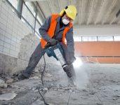 Praca Niemcy na budowie przy wyburzeniach od zaraz 2018