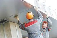 Praca Niemcy na budowie przy montażu fasad – płyt HPL k. Monachium