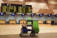Od zaraz oferta w Niemczech przy sprzątaniu terminala lotniska Düsseldorf