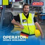 Operator wózka widłowego Niemcy praca od zaraz bez języka na magazynie w Zörbig