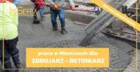 Niemcy praca od zaraz na budowie jako zbrojarz-betoniarz k. Lipska