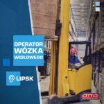 Od zaraz praca Niemcy operator wózka widłowego czołowego na magazynie, Lipsk