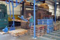 Bez języka oferta pracy w Niemczech od zaraz pracownik produkcji palet w Torgau