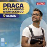 Praca Niemcy bez znajomości języka od zaraz na magazynie żywności, Berlin 2021